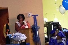 Gail speaking 2