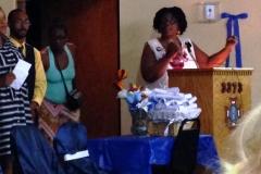 Gail speaking